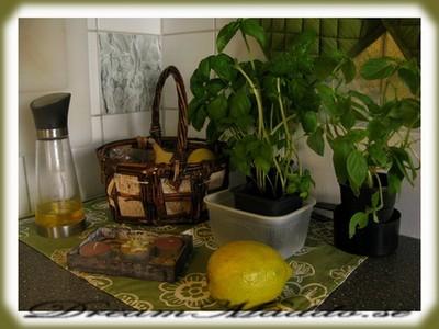 Färgkombination i köket