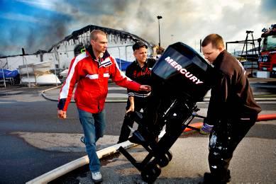 Brand i Göteborg 20090611, Bild från gp.se