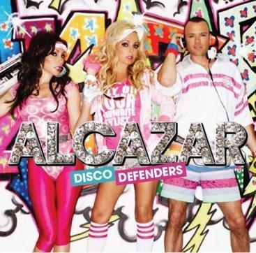Alcazar gratis konsert i Borås - Bild från melodifestivalblogg.nu