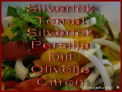Min sallad - Lunch