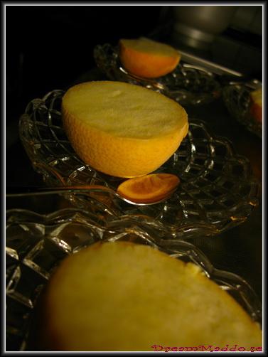Mums - apelsinsorbet