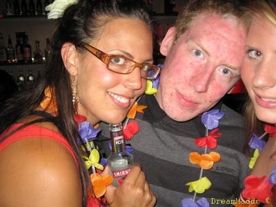 Jag och Mats samt Nathalie på ett hörn ^^
