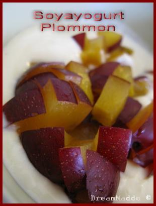 Detox - Soyayogurt med plommon