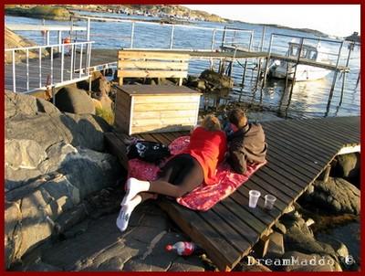 Detox - Grillning vid havet