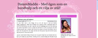 Bloggplatsen - DreamMaddo