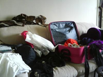Packning pågår! Vänligen stör ej! ^^