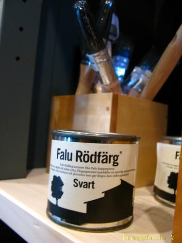 Falu RÖDfärg heter det ju!