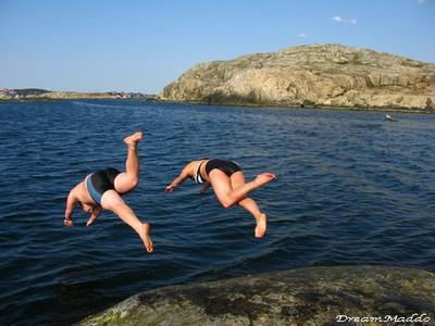 Bada är gratis - men vart åker man?